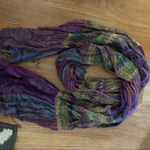 Multi-Colored Scarf